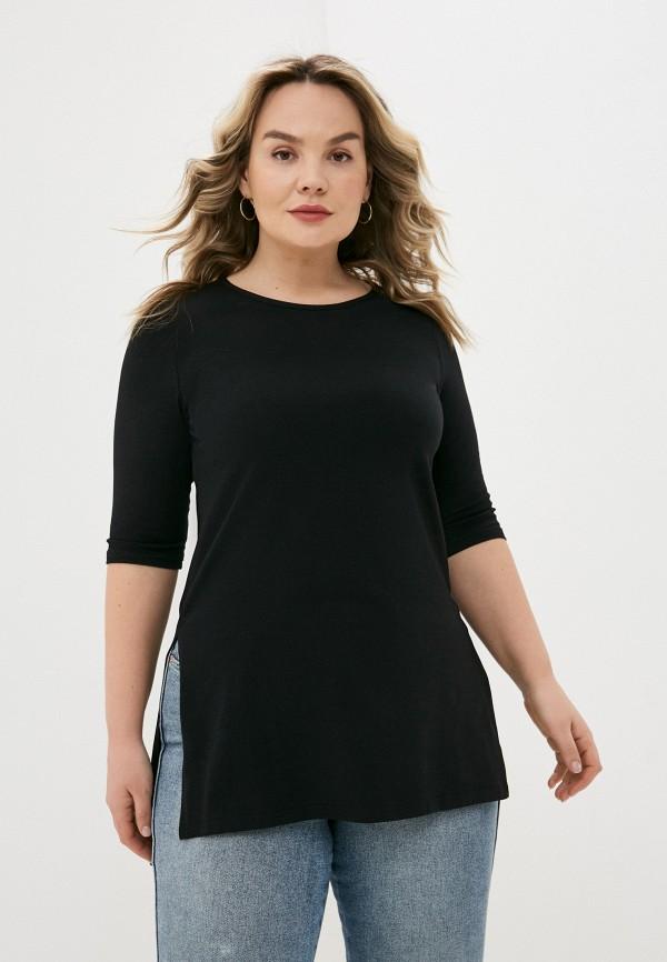 женская футболка sparada, черная