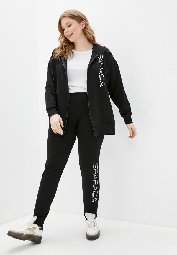женский спортивный костюм sparada, черный