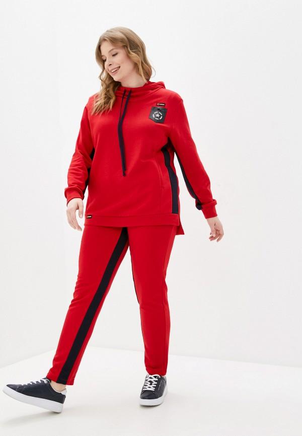 женский спортивный костюм sparada, красный