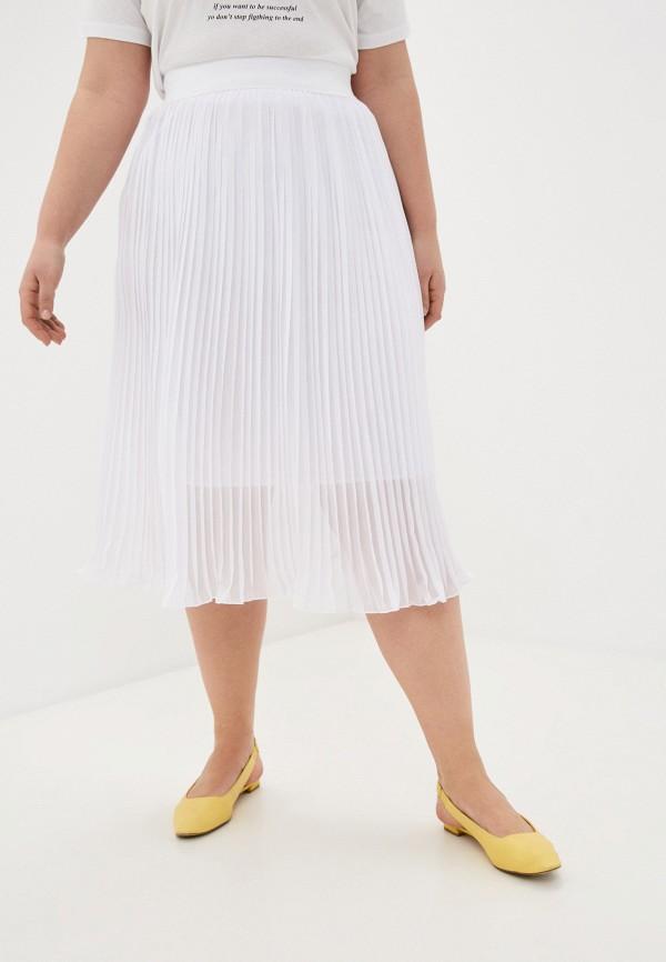 женская плиссированные юбка sparada, белая