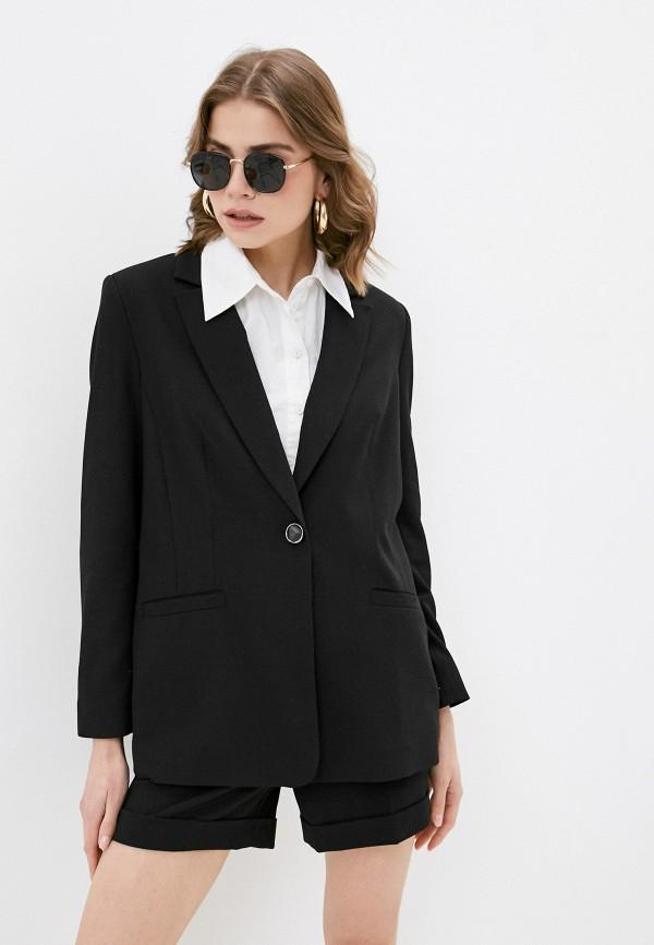 женский пиджак blauz, черный