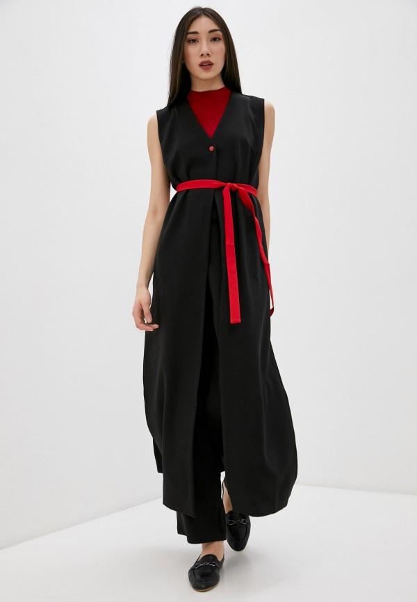 женский костюм adzhedo, черный