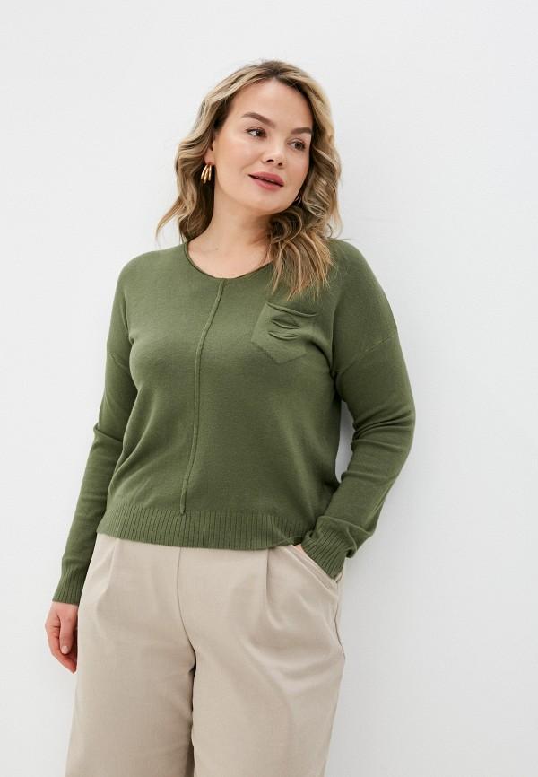 женский пуловер viserdi, зеленый