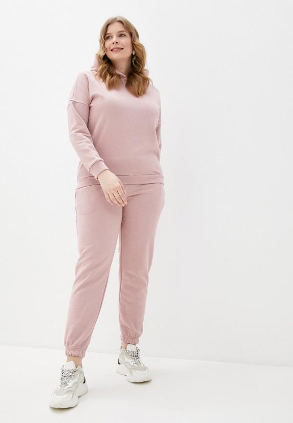 женский спортивный костюм milanika, розовый