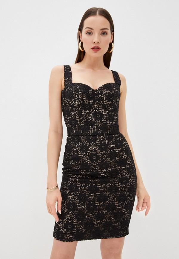 женское вечерние платье ruxara, черное