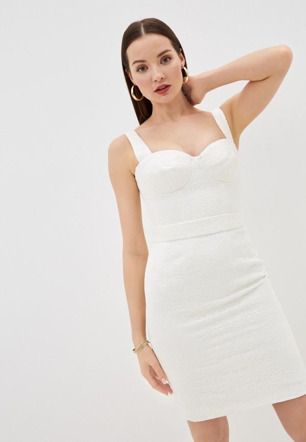 женское вечерние платье ruxara, белое
