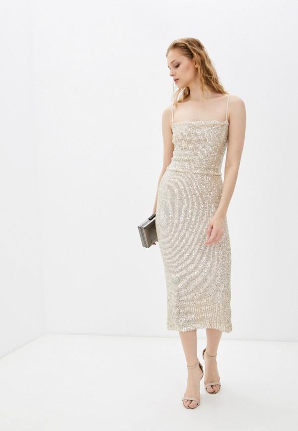 женское вечерние платье sashyou, золотое