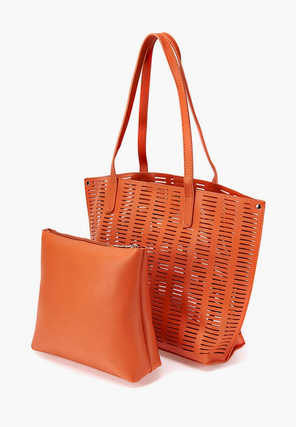 женская косметичка-шоперы jane's story, оранжевая
