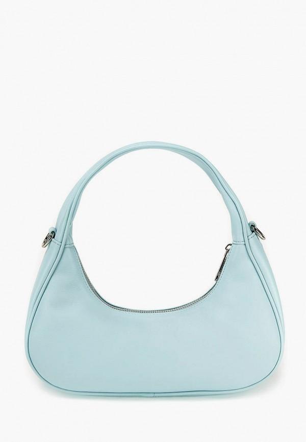 женская сумка с ручками jane's story, голубая