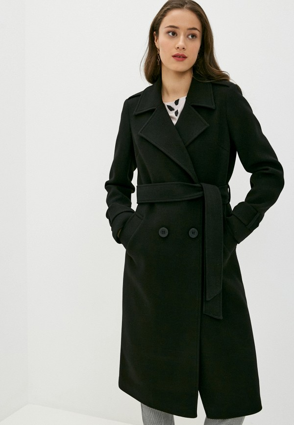 женское пальто vittoria vicci, черное