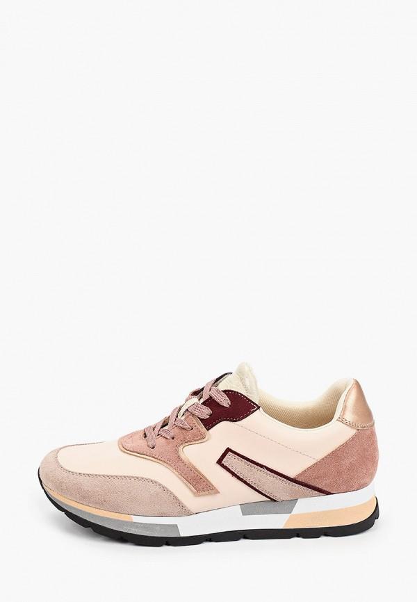 женские низкие кроссовки zenden active, бежевые
