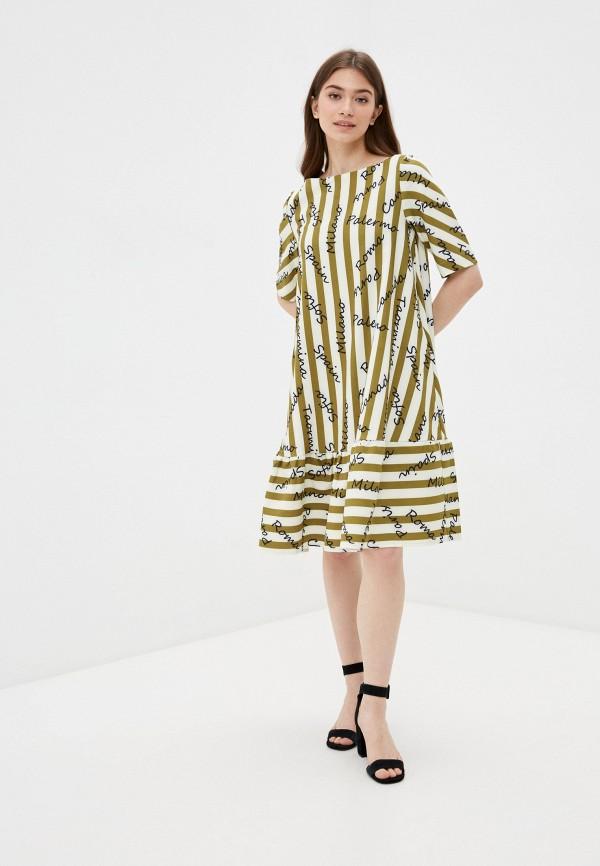 Платье Aelite Aelite  хаки фото
