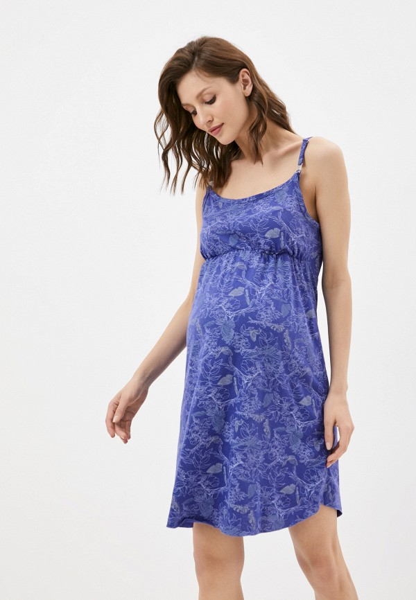 женские сорочка ночная fest, фиолетовые