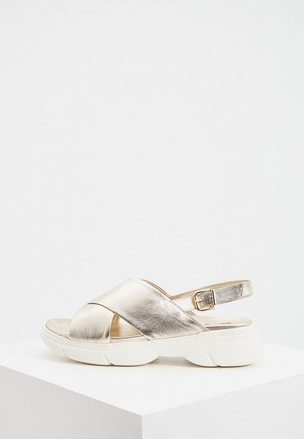 женские сандалии hogl, золотые