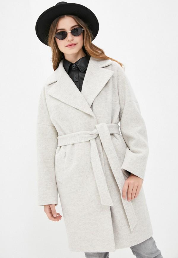 женское двубортные пальто almarosa, бежевое