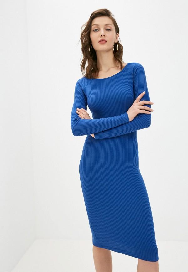 женское платье-свитеры ruxara, синее
