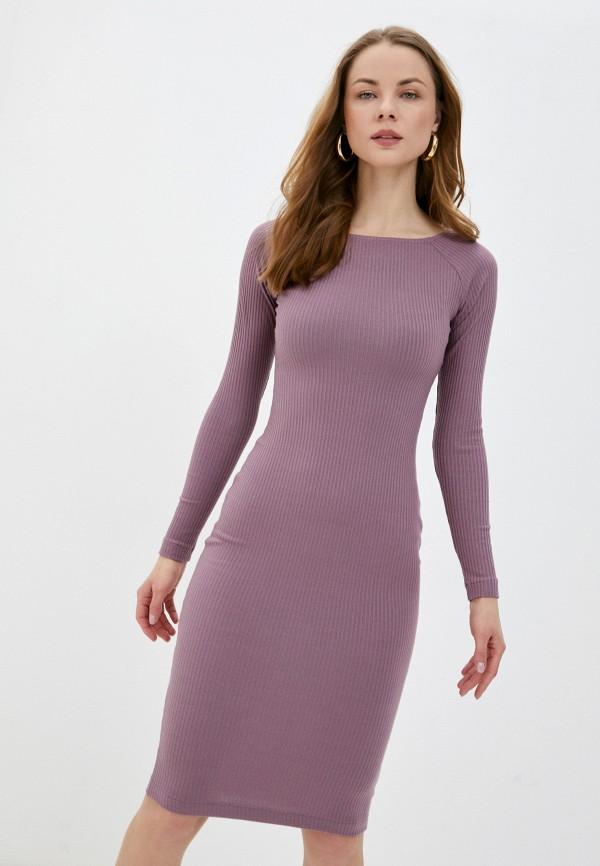 женское платье-свитеры ruxara, розовое