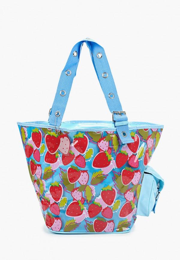 женская пляжные сумка zemsa, голубая