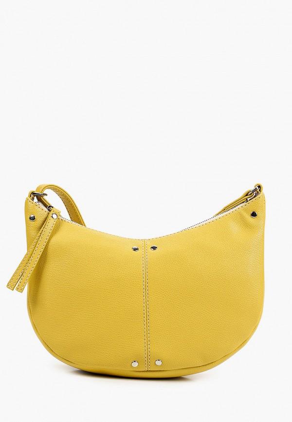 женская сумка через плечо solo, желтая