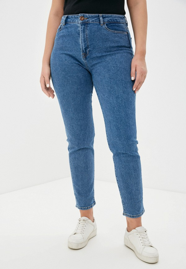 женские прямые джинсы whitney, голубые