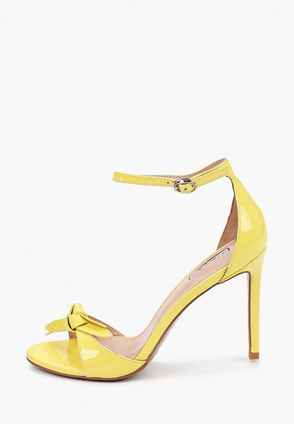 женские босоножки basconi, желтые
