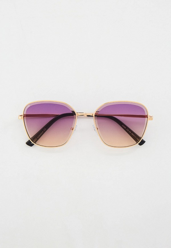 женские квадратные солнцезащитные очки ruxara, золотые