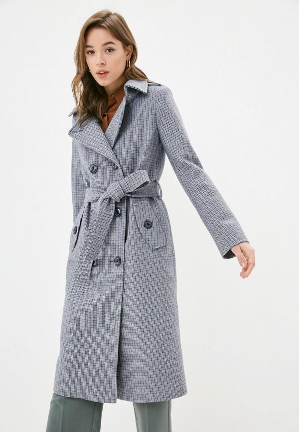 женское пальто elegant life, синее