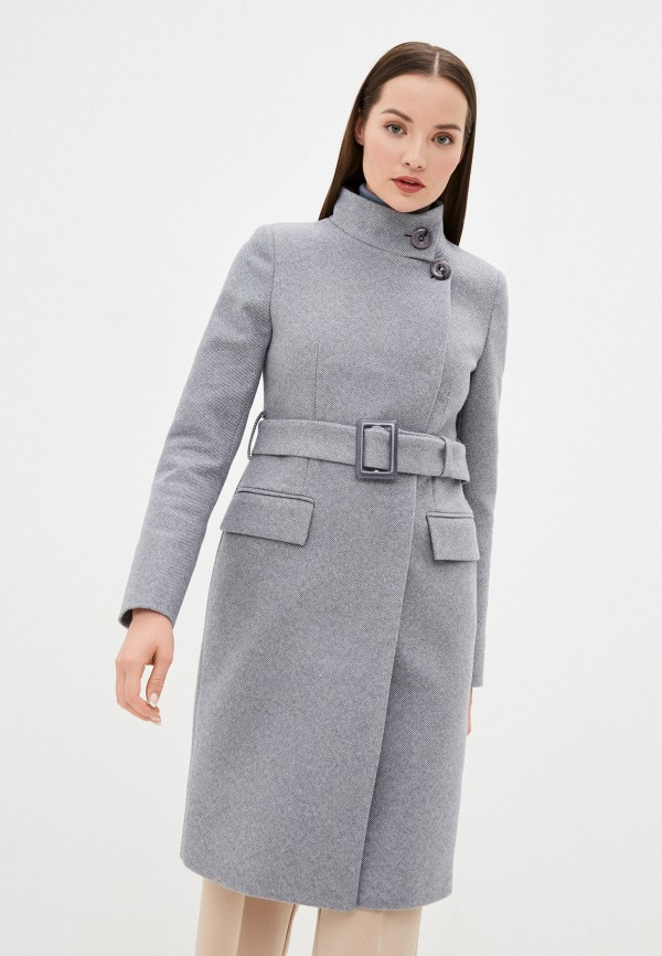 женское пальто elegant life, серое