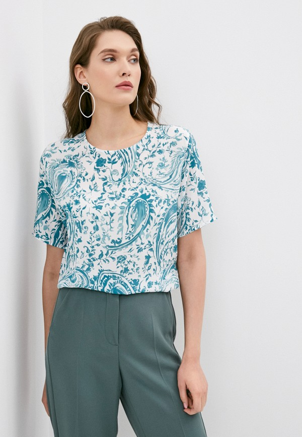 Блузы с коротким рукавом