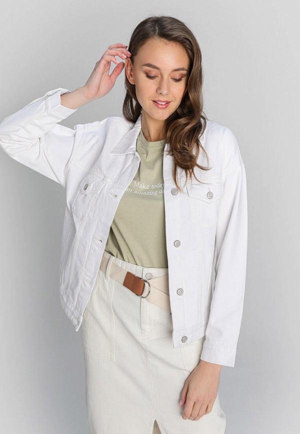 женская джинсовые куртка o'stin, белая