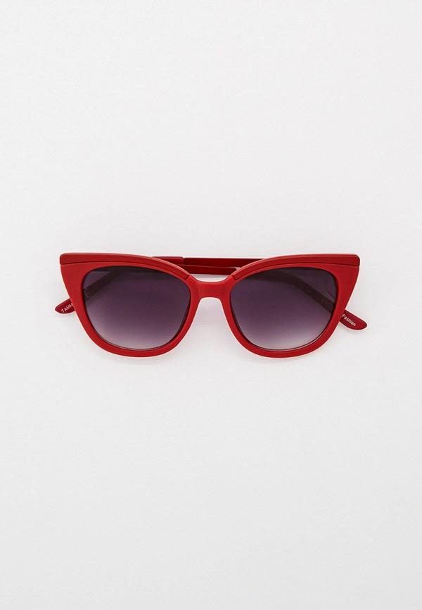 женские солнцезащитные очки кошачьи глаза eyelevel, красные