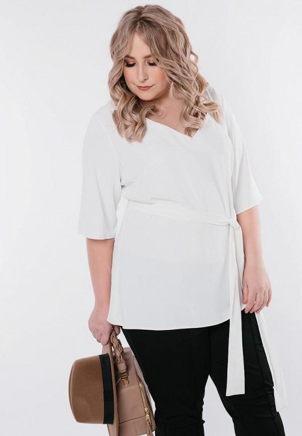 женская блузка с длинным рукавом jp, белая