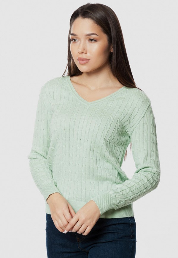 женский пуловер arber, бирюзовый