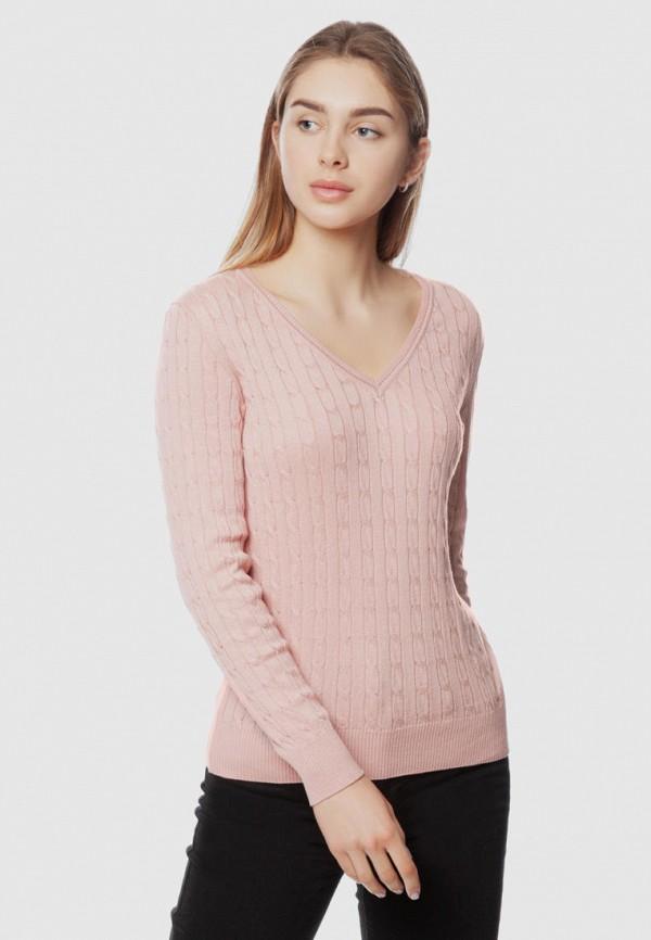 женский пуловер arber, розовый