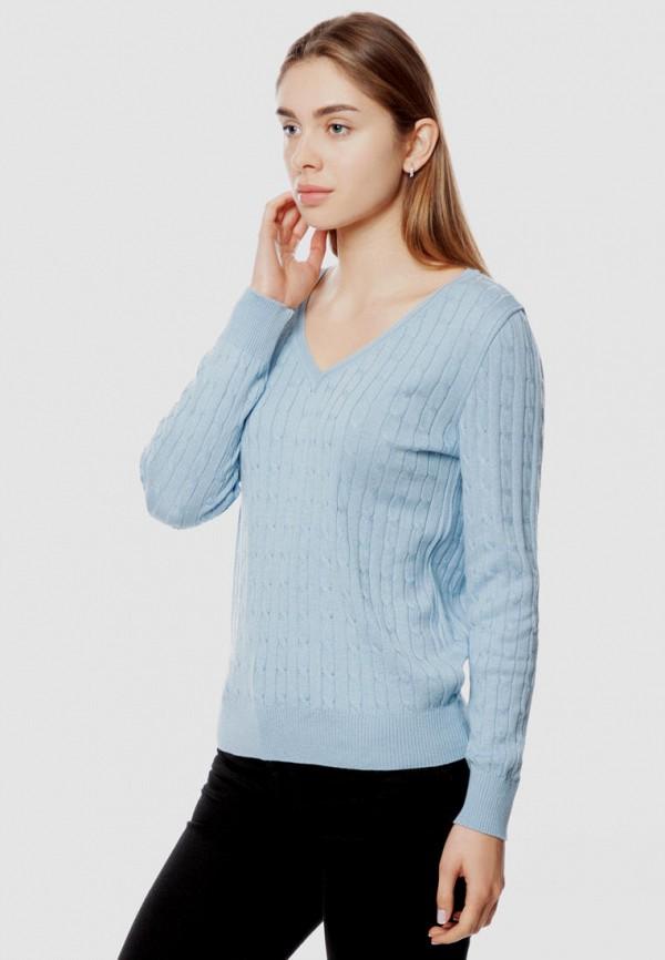 женский пуловер arber, голубой