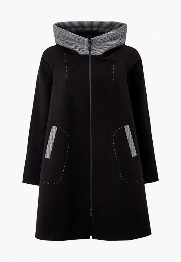 женское пальто trevery, черное