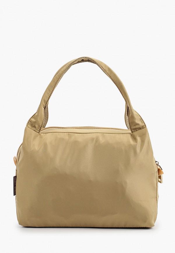 женская сумка-тоут handy bendy, бежевая