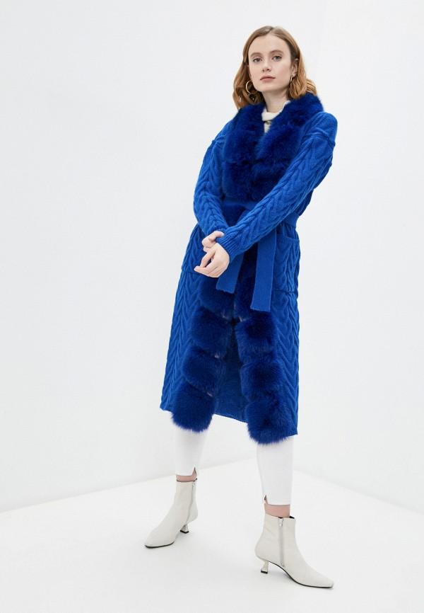 женский кардиган v.s, синий