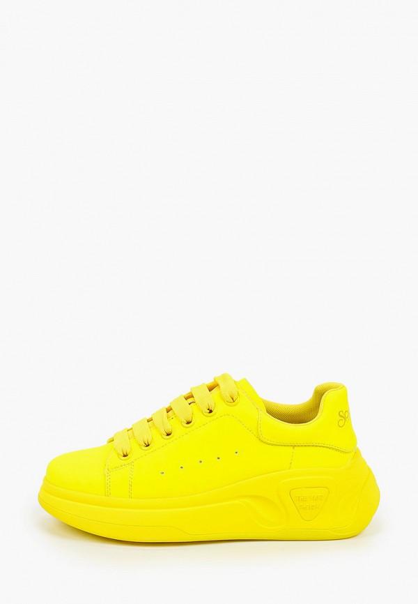 женские низкие кеды sprincway, желтые