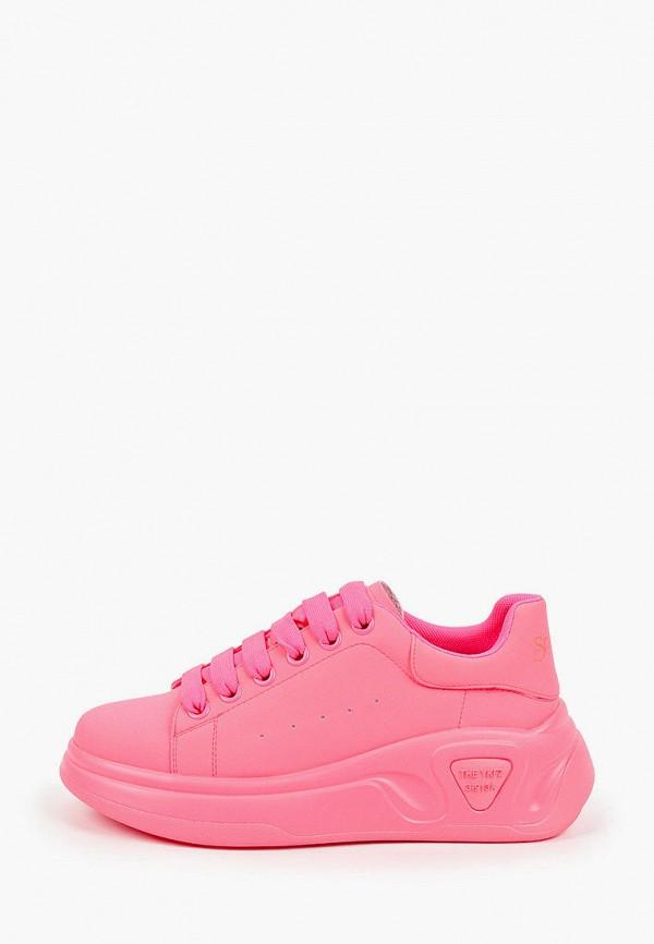 женские низкие кеды sprincway, розовые