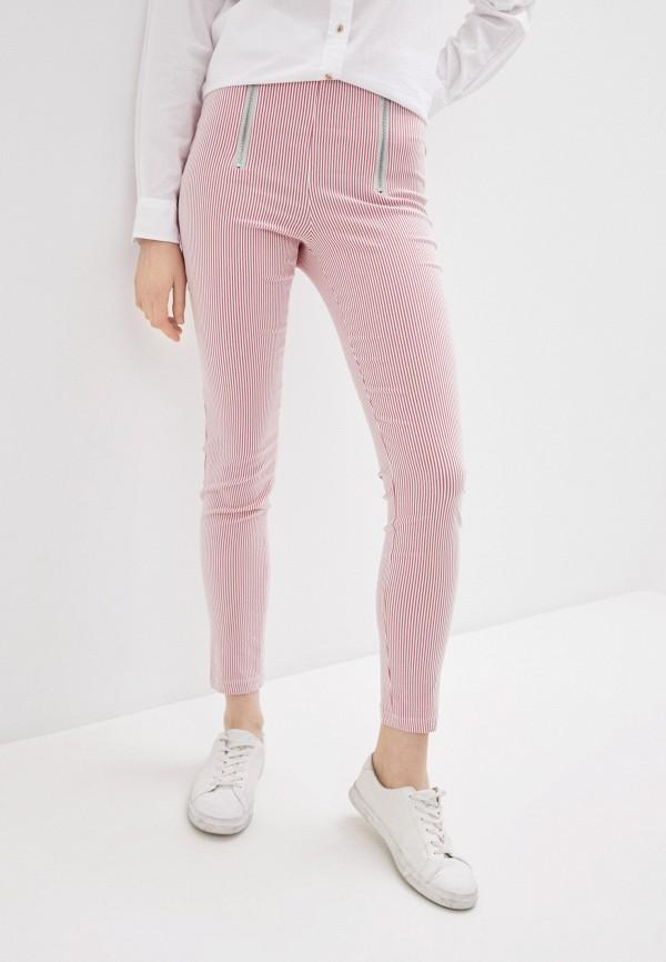 женские повседневные брюки calzedonia, розовые
