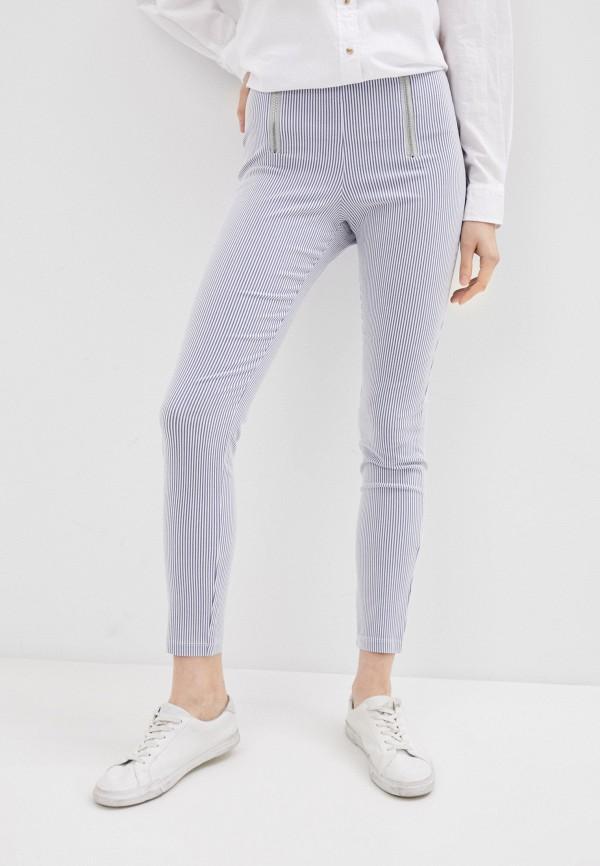 женские повседневные брюки calzedonia, голубые