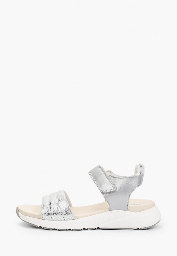 женские сандалии ralf ringer, серебряные