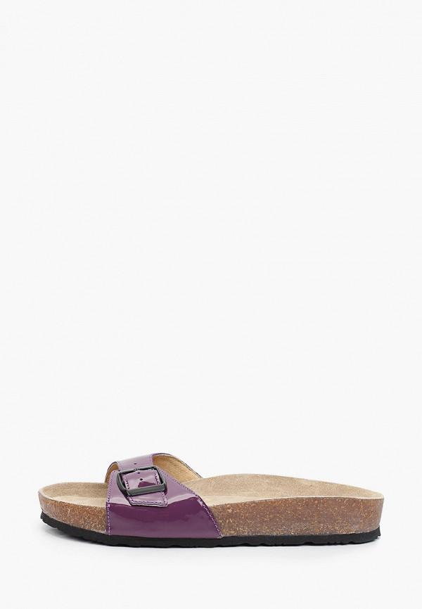 женское сабо ralf ringer, фиолетовое