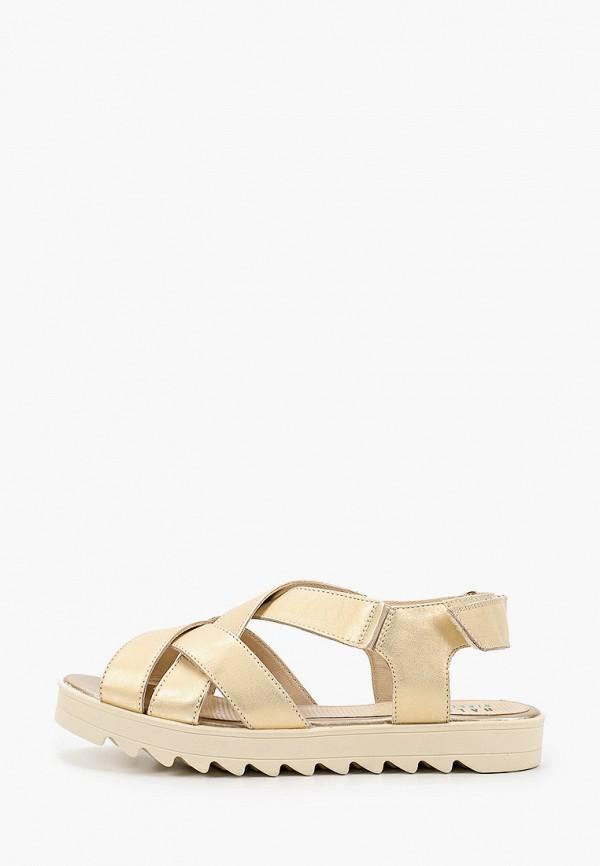 женские сандалии ralf ringer, золотые