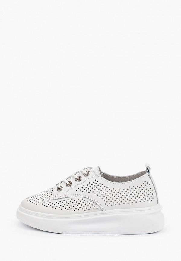 женские низкие ботинки x-plode, белые