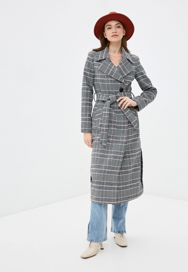 женское пальто d.jagazi, серое