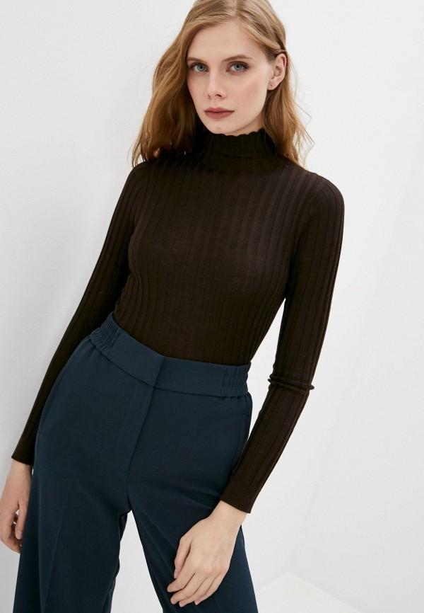 женский пуловер falconeri, коричневый