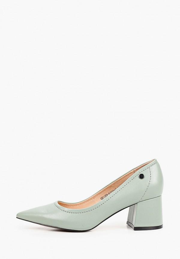 женские туфли с закрытым носом graciana, зеленые