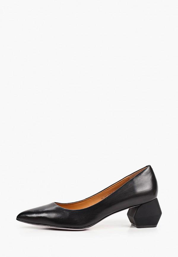 женские туфли-лодочки graciana, черные